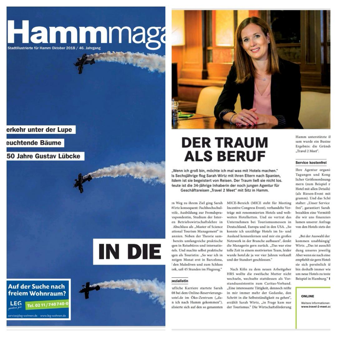 Travel 2 Meet Hamm Magazin